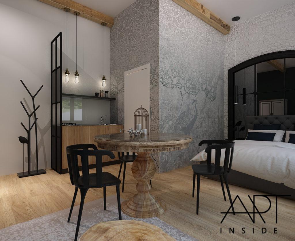 luksusowe wnętrze mieszkania