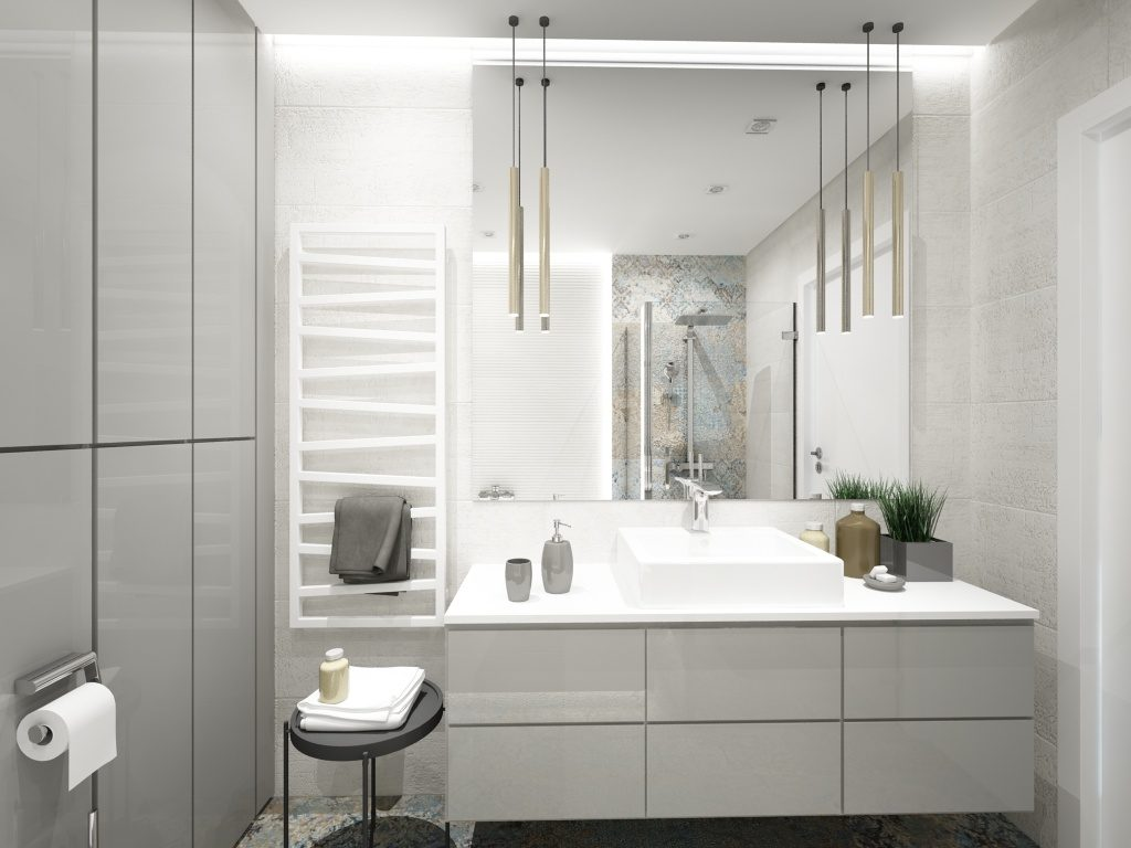 Projekt klasycznej łazienki
